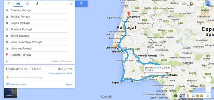 1500 км за 7 дни