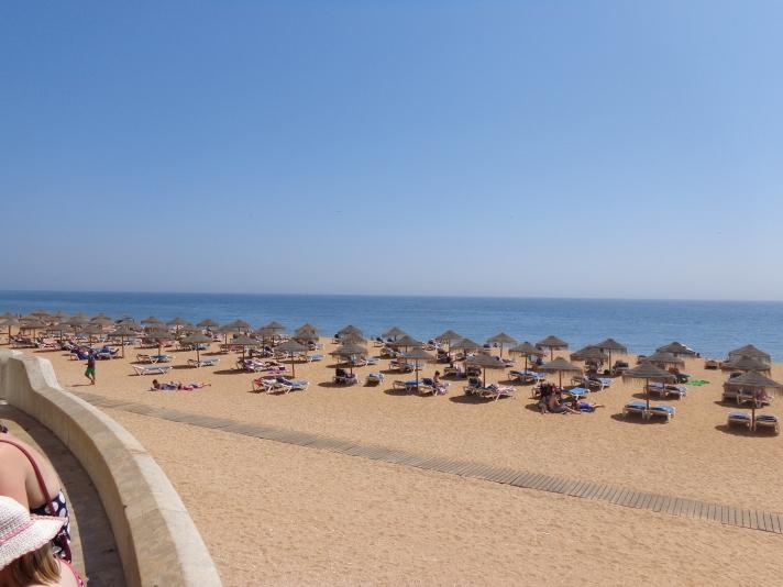 Плажът в Албуфейра